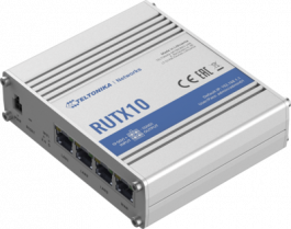Next-Generation Teltonika Networks Enterprise router, equipped with the Dual Band WiFi 5 802.11ac RUTX10000200
