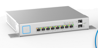 UniFi Switch 8 150W - Managed PoE+ Gigabit Switch with SFP - US-8-150W - UBIQUITI