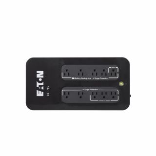 3S UPS, 5-15P input, Outputs: (5) 5-15R, (5) 5-15R surge only - 3S750 - Eaton