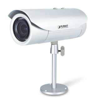 5 Mega-pixel Bullet IR PoE IP Camera with Extended Support - ICA-E3550V - Planet