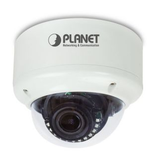 H.265 3 Mega-pixel Vandalproof IR IP Camera with Remote Focus and Zoom - ICA-M5380P - Planet