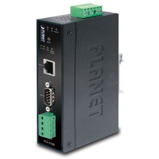 Industrial RS-232/ RS-422/ RS-485 over Ethernet Media Converter - ICS-2100 - Planet