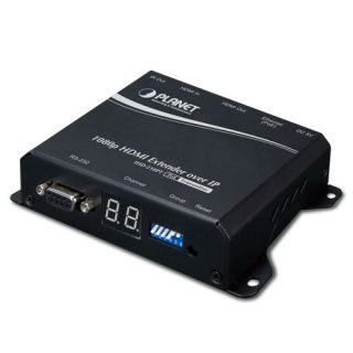 High Definition HDMI Extender Transmitter over IP with PoE - IHD-210PT - Planet