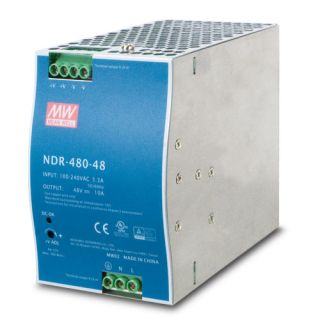 480W 48V DC Single Output Industrial DIN Rail Power Supply - PWR-480-48 - Planet