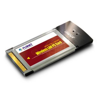 802.11g Wireless MIMO PC Card - WML-3565 - Planet