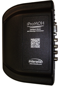 Networked Playback Device 2-Channel iProMOH-v4 - Interalia IPM-2-M , requires IMCM software to work. this is not a standalone unit.