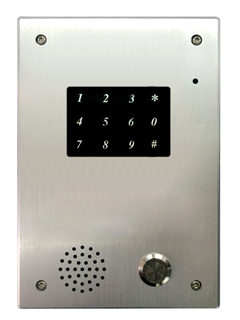 PoE Touchpad IP Door Phone - IS720-PT - Escene