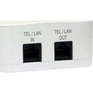 2 Outlet Direct Plug-In Surge Protector with Tel/Lan - MD2-TL - Panamax