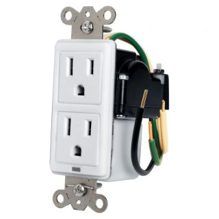Max-In-Wall 15 Amp Duplex with Surge Protection - MIW-SURGE-1G - Panamax