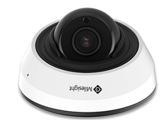 2MP H.265 IR Mini Dome Network Camera - MS-C2983-PB - Milesight