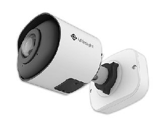 5MP 180° Panoramic H.265 Mini Bullet Network Camera - MS-C5365-PB - Milesight