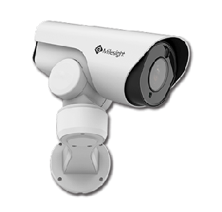 2MP LPR 12X H.265 Mini PoE PTZ Bullet Network Camera - MS-C2961-REL(P)B - Milesight