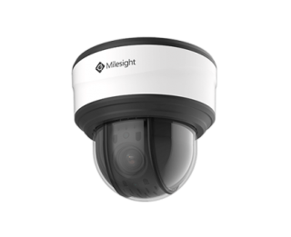 5MP 12X H.265 Mini PTZ Dome Network Camera - MS-C5371-X12HPB - Milesight