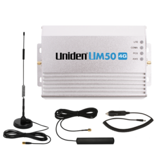 UM50 4G Car/RV/Boat Cellular Booster Kit - 4021CPAL - UNIDEN
