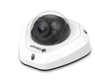 5MP H.265 Vandal-proof Mini Dome Network Camera - MS-C5373-PB - Milesight