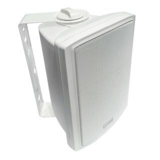 "5"" Full Range 2-way Multitap Indoor/Outdoor Cabinet Speaker (70V, 30W) - VOX-CS30W - VoxPrime"