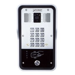 720p SIP Multi-unit Apartment Vandalproof Door Phone with RFID and PoE - HDP-5260PT -  Planet